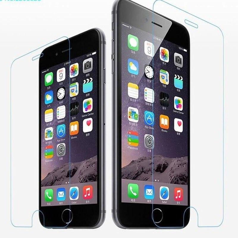 2.5D X protetor de tela de vidro Temperado para iphone 6 6S vidro no para iphone 4S 5S 6 6 além de 7 além de 8 película protetora