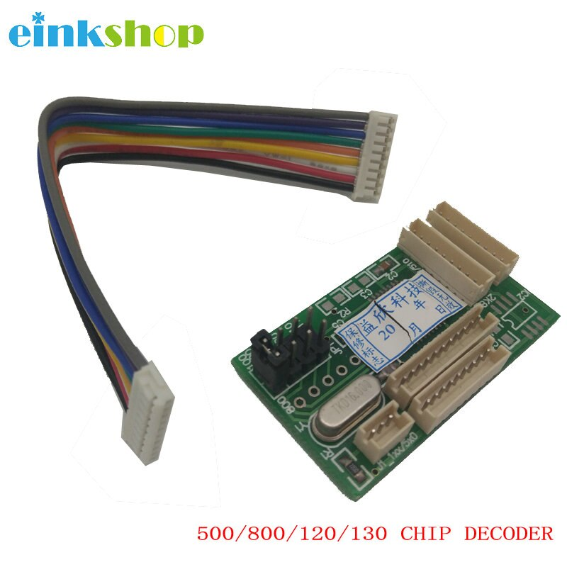 Чип-декодер einkstore 500, совместимый с HP DesignJet 500 500ps 510 800ps 815 820MFP 90 100 110 111 120 130 10PS 20PS 50PS