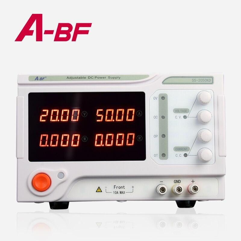 ABF-مصدر طاقة تيار مستمر قابل للتعديل ، مصدر طاقة عالي ، 10 أمبير 20 أمبير 30 أمبير 50 أمبير ، 0-60 فولت