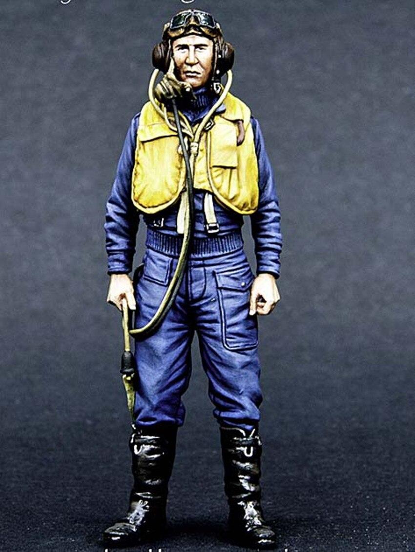 1/32 Figura Resina Modelo Kit Unassambled Sem Pintura 00167