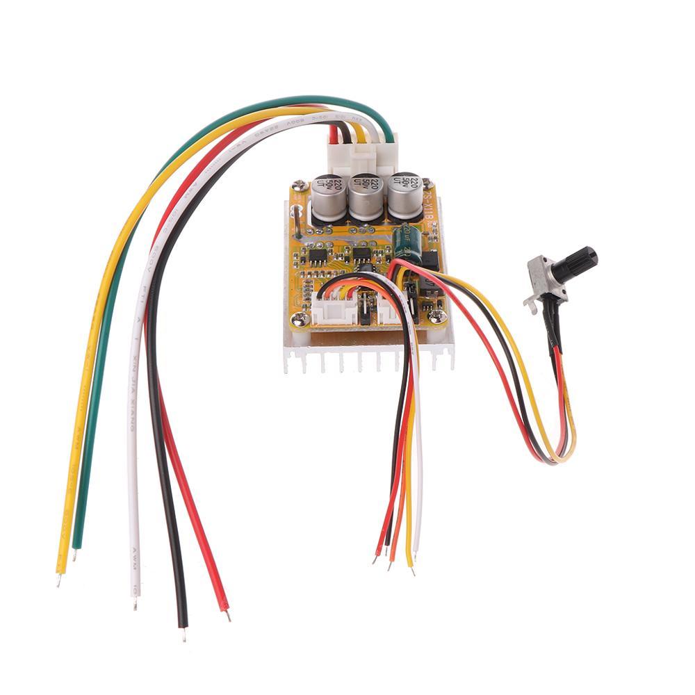 OOTDTY, 350W, 5V-36V, controlador de Motor de CC sin escobillas BLDC, amplio voltaje, alta potencia