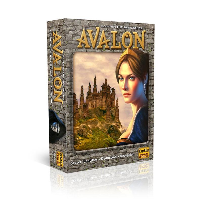 Juego de mesa de cartas interactivo de la resistencia Avalon Indie Family juguetes educativos para niños