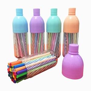 36 Colors/Set Watercolor Marker Pen Painting Pencils Pen Brush Art Markers for Drawing Kids Art Supplies School Washable