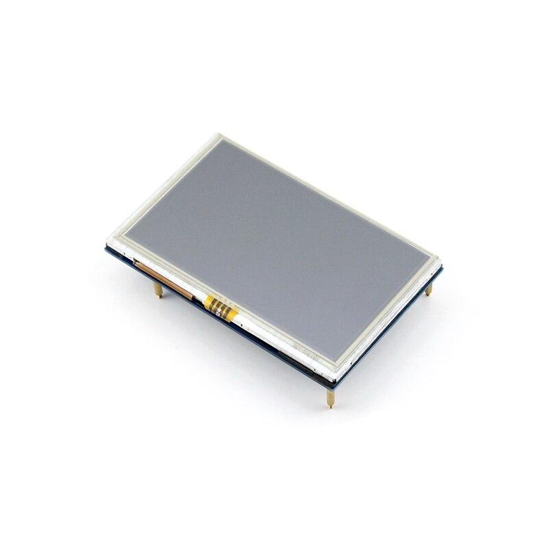 Raspberry pi 3-شاشة لمس LCD 5 بوصات ، شاشة تعمل باللمس مقاومة ، واجهة HDMI