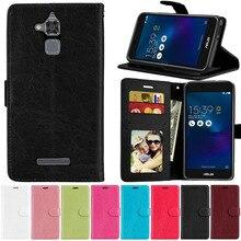 Flip Leather Case For Asus ZenFone 3 Max ZC520TL X008D X008DA X008DC X00KD Case Cover Wallet Case St