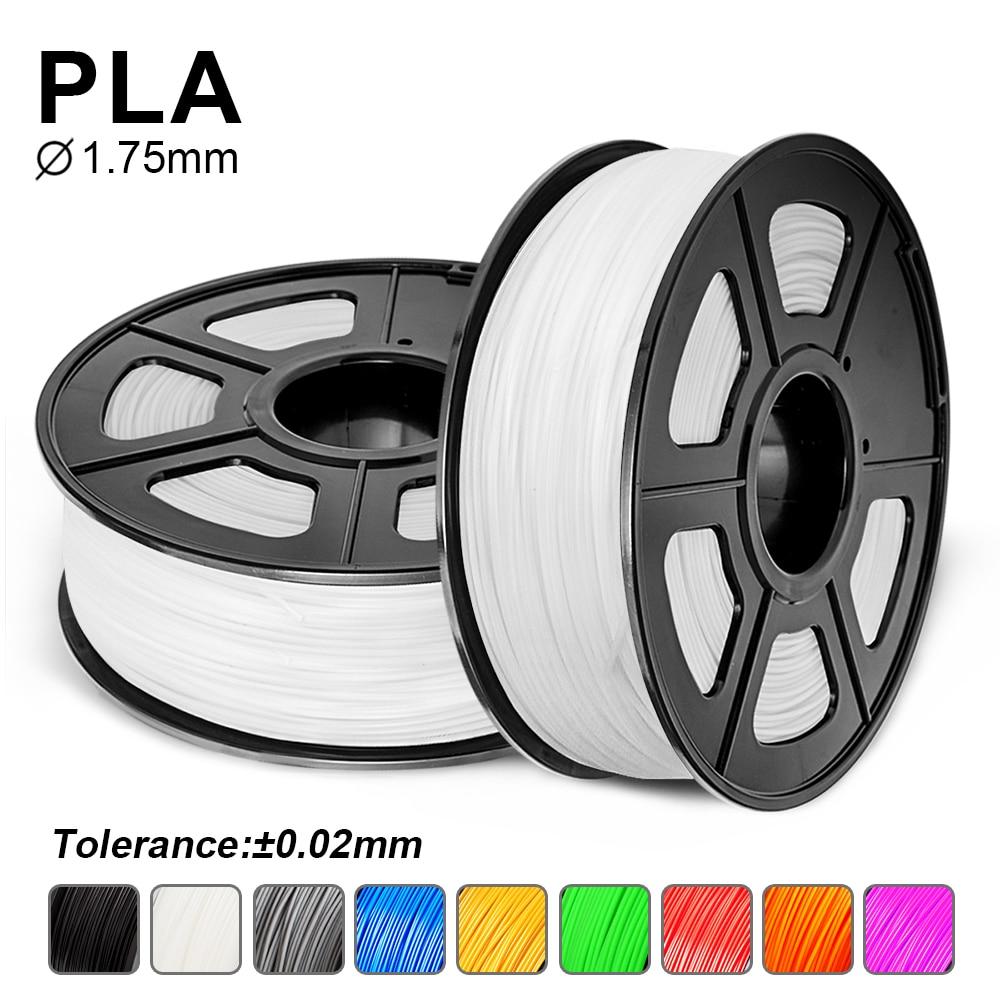 1.75mm PLA /PLA Plus 3D Printer Filament For FDM 3D Printer 1KG With Spool 100% No Bubble Non-toxic PLA /PLA+ Filament