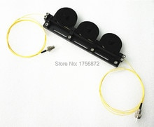 Contrôleur mécanique de polarisation des fibers tricycliques contrôleur manuel de polarisation des fibers connecteurs FC/UPC chargés