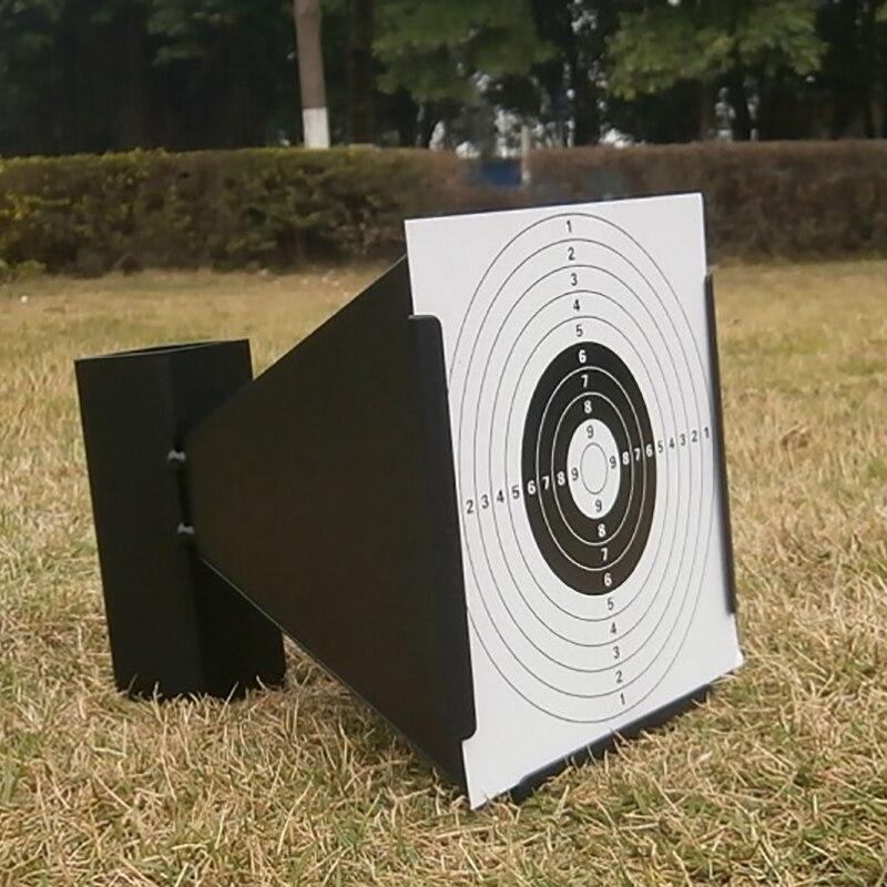 Funnel-Shaped Particle Trap Green Or Black With 20-Sheet Target Shooting Fitted Lead Gun Air Gun Steel BB Air Gun Target
