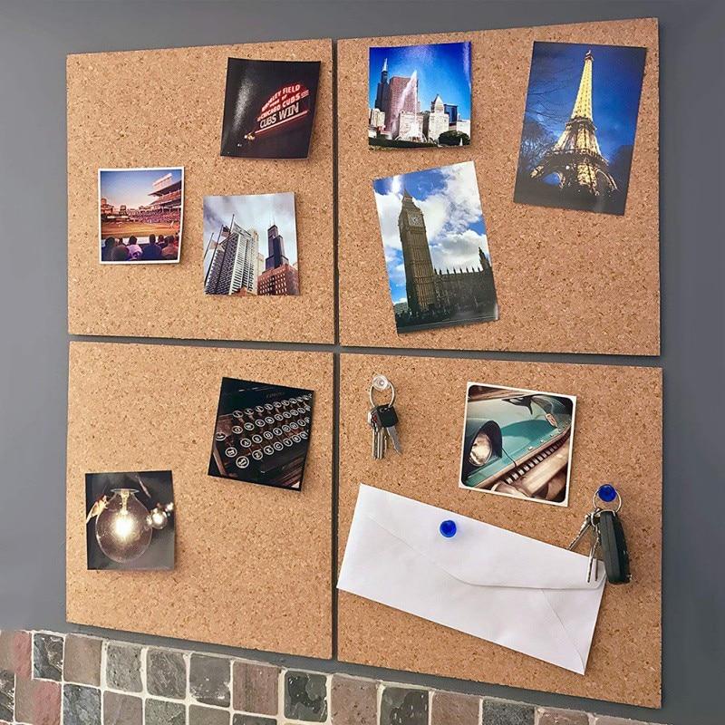 Estilo nórdico carta de madeira placa de nota placa mensagem casa sextavada círculo quadrado foto decoração da parede do escritório casa