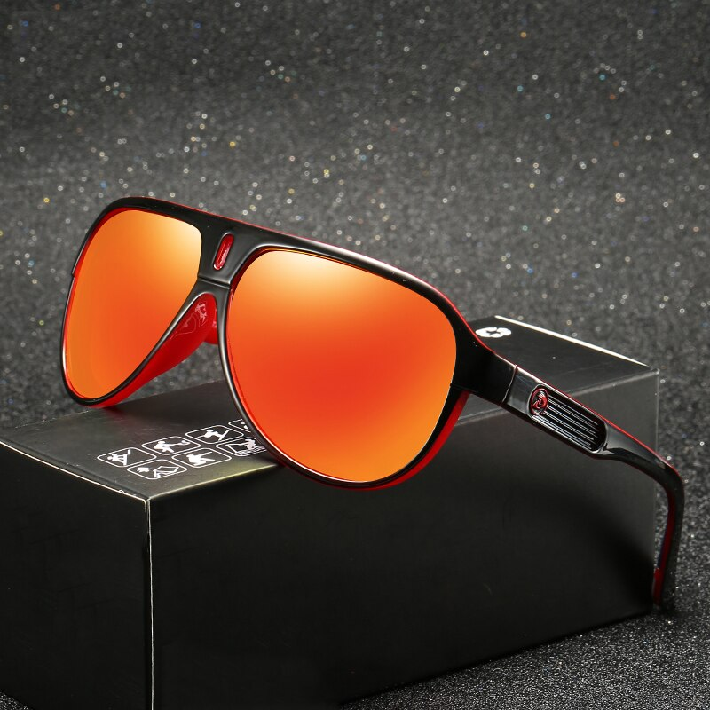 Gafas de sol polarizadas de diseño de marca para hombre, gafas de sol Retro de moda para conducir para hombre, gafas de verano con espejo UV400 Oculos