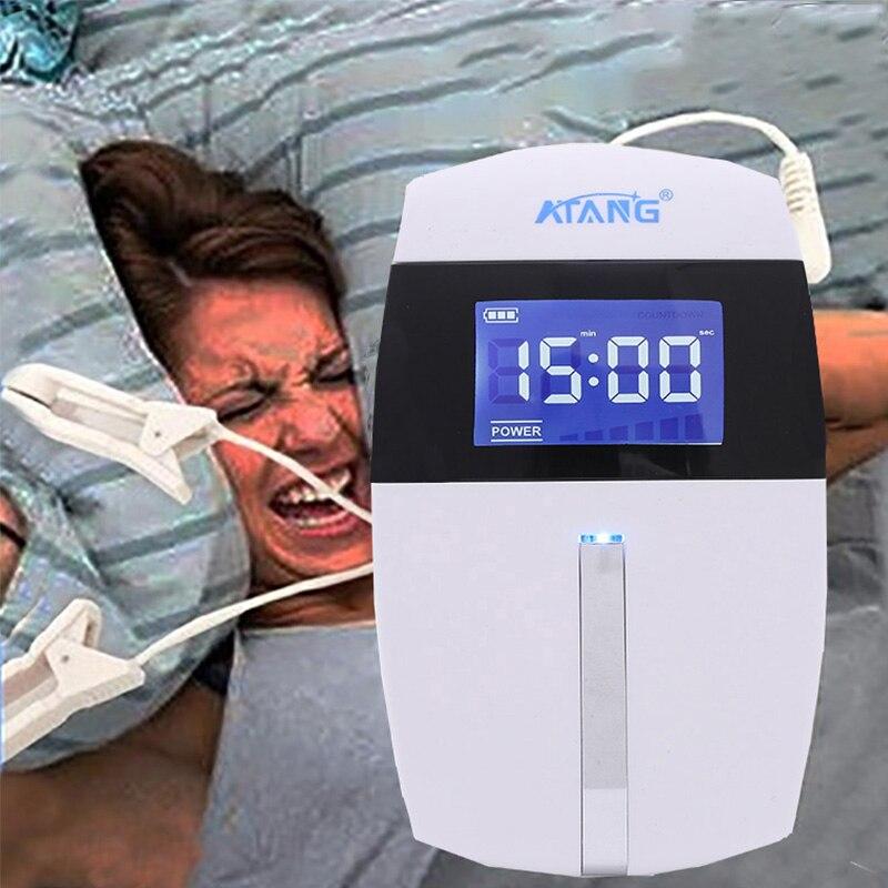 ATANG-enfermera del sueño, alfa-stim, dispositivo para dormir, insomnio CES, alivio de la ansiedad, estimulación craneal por electroterapia, envío gratis