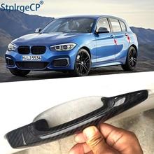 Couvercle de poignée pour BMW série 1   E82 E87 F20 F21 2007-2019, accessoires en fiber de carbone 100% véritable