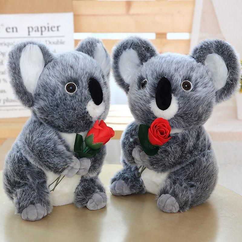 30cm nuevos juguetes de peluche Kawaii Koala para niños Oso De Koala australiano peluche muñeca suave niños encantador regalo para niña bebé niños