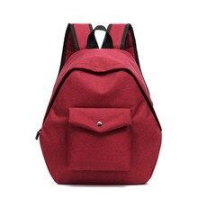 [Livraison directe] nouvelle corée douce dame toile sacs femmes filles étudiant sacs décole tout-match épaule sacs de voyage sacs à dos (A066)