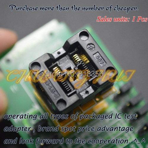 HEAD-SEEP-SSOP8 Programmer adapter tssop8 socket for GANG-08 Programmer enlarge