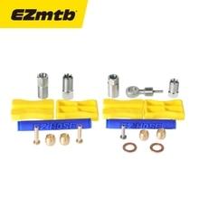 1 ensemble Olive tuyau adaptateur vélo frein insertion huile connecter pour Shimano BH90 BH59 haute qualité