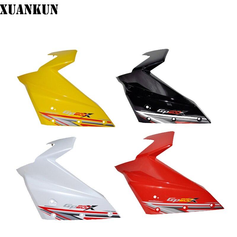 XUANKUN Motorcycle Accessories GP200 LX150-56 Headlamps Left Panel, Shroud Left Shield
