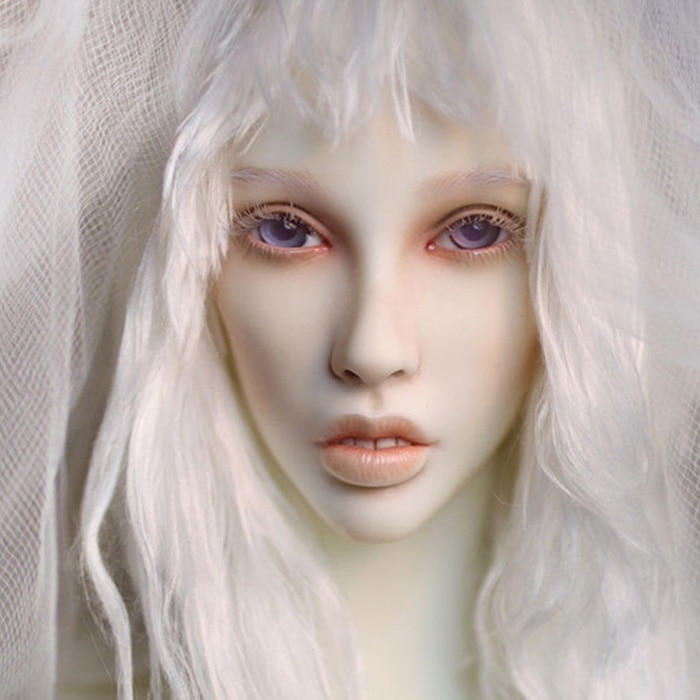 Dollshe craft DS Erica-snow 26F 1/3 body model girl bjd sd doll oueneifs High Quality resin toys free eye beads  shop