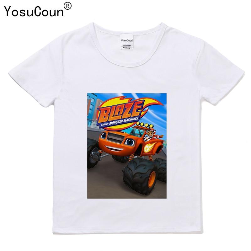 Jungen T-shirt Für Kinder Maschine T Tops Kinder Lodernden Geschwindigkeit Kurz-Hülse T-Shirt T Kleinkind Hemd T176X
