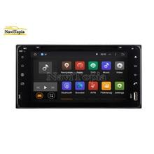 NAVITOPIA 4G RAM 64G ROM PX6 seis Core Android 9,0 reproductor de DVD del coche de navegación GPS para Toyota Corolla/Hilux/Fortuner 200*100mm