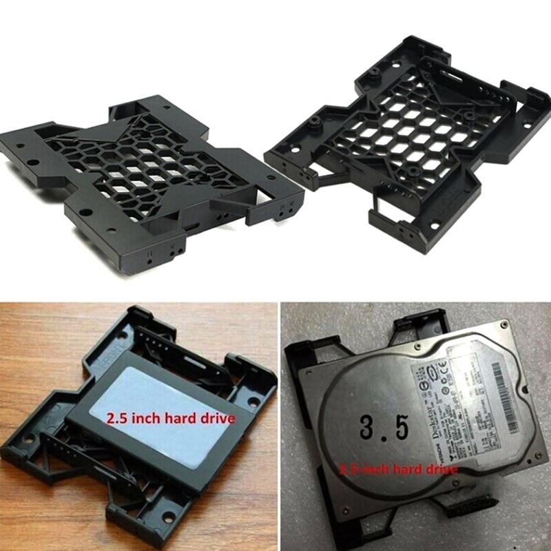 """1 unidad 5,25 """"a 3,5"""" 2,5 """"soporte de la bandeja de montaje ventilador de refrigeración HDD adaptador SSD disco duro"""