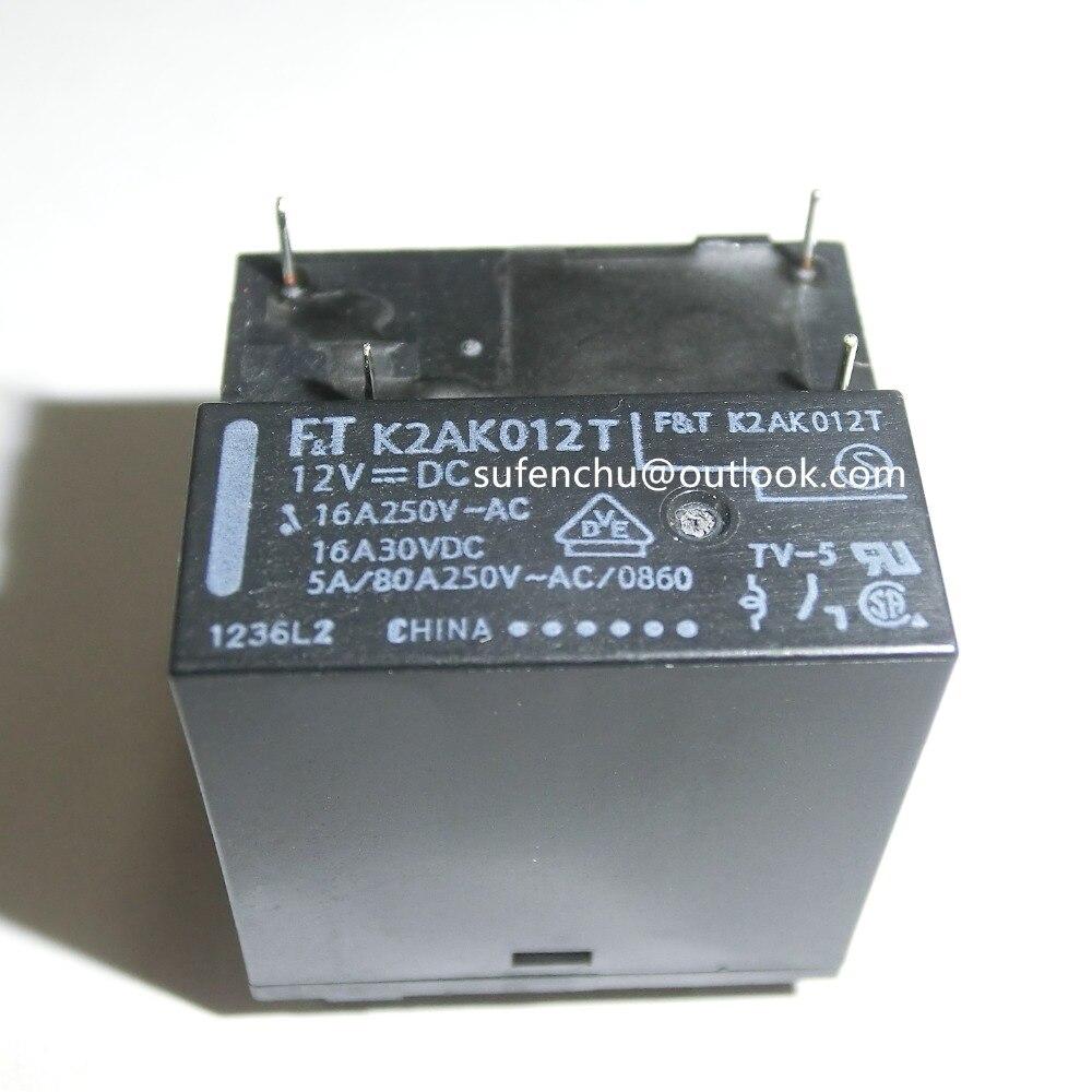 FT K2AK012T FTR-K2AK012T 12V 12VDC 16A 250VAC 30VDC 4pin новое оригинальное реле