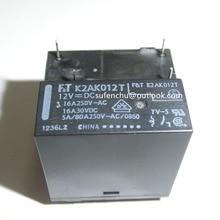 FT K2AK012T 12V 12VDC 16A   250VAC 30VDC 4pin, nouveau relais original