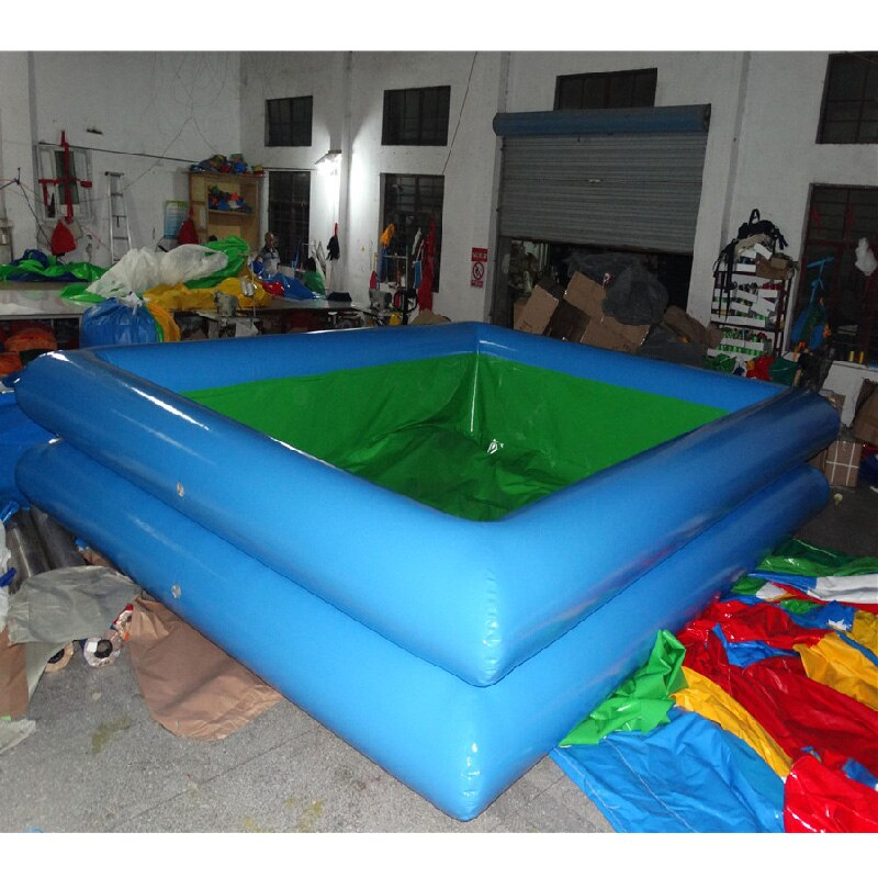 inflatable swimming pool square pool for adult and children with customized size for sale