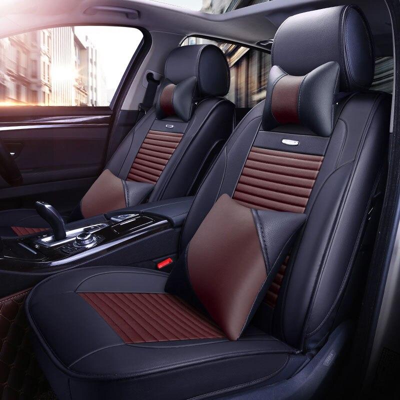 Funda de asiento de coche para Kia carnival forte cerato changan cs35 cs75 mg 6 mg3 MG7 MG5 2014 2013 2012 fundas para cojines de asiento Accesorios