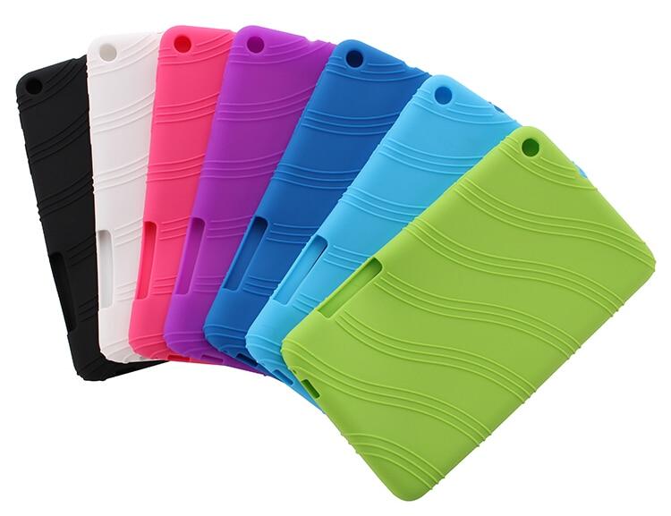 De Lujo funda de silicona para Huawei MediaPad T1 7,0 Tablet caso huawei t1 7,0 T1-701u caso