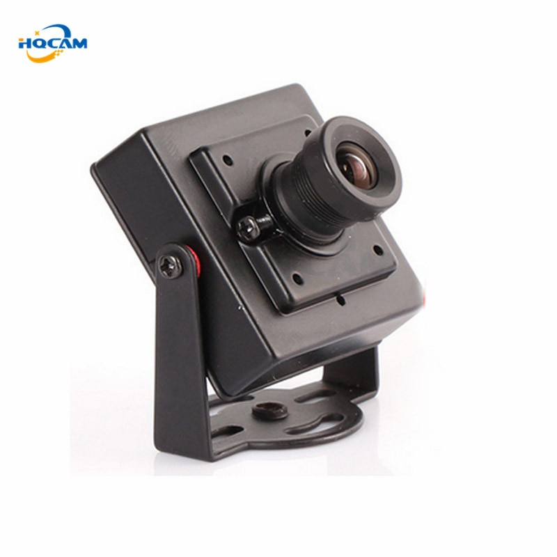 HQCAM 1080P Mini AHD Cámara NVP2470 + IMX323 2,0 megapíxel, cámara AHD cámara de seguridad cctv interior AHD mini cámara de Metal interior