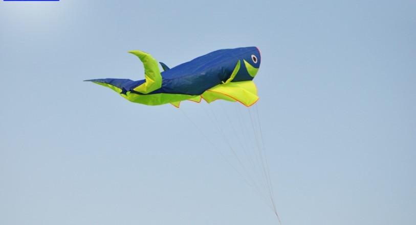 Juguete 3d ballena vlieger ripstop suave y grande cometa Fondo volant línea cometa volando windsock pipas brinquedo ar livre atacado bar