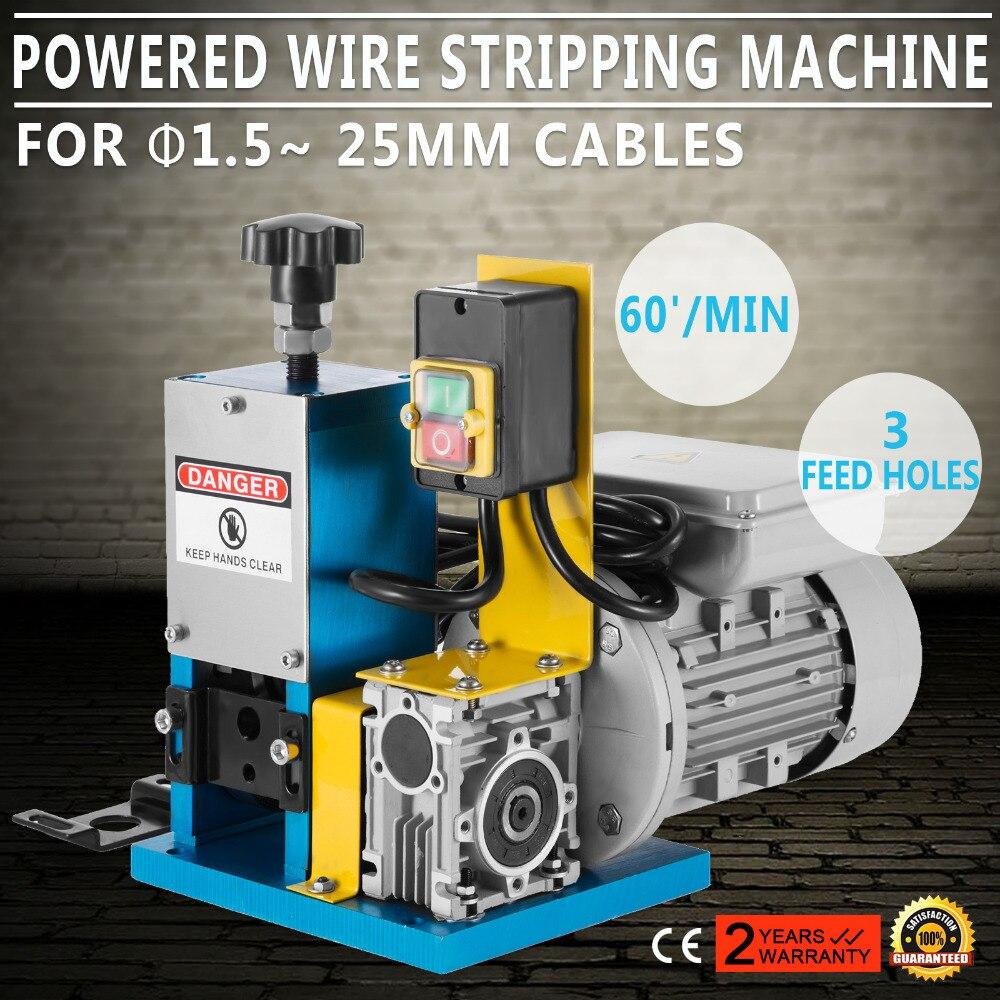 Máquina pelado de cables de cobre