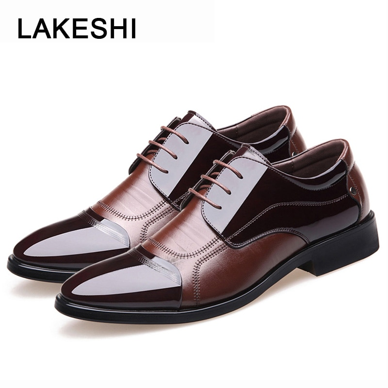 New Fashion Oxford Business Men Shoes Genuine Leather High Quality Soft Casual Breathable Men's Flats Zip Shoes men dress shoes