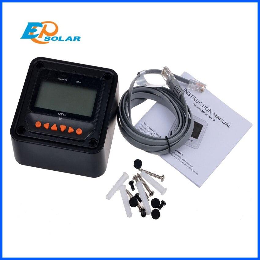 שמש בקר מרחוק מטר MT-50 עבור EPever LS-B LS-BP VS-BN Tracer-BN Tracer-eTracer iTracer EPsolar MT50 CE ROHS
