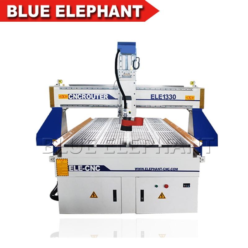 Фрезерный станок с ЧПУ Blue Elephant 1330 деревообрабатывающий вакуумным столом и