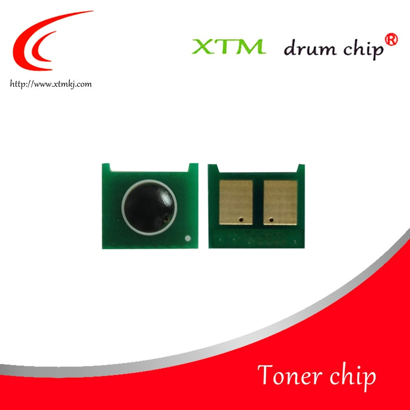 Compatible con CE410A CE411A CE412A CE413A Color toner chip para la impresora HP LaserJet 300 color M351/400 M451nw M475dn 305A tambor de impresora