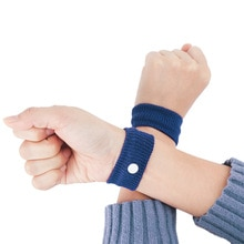 2Pcs Anti-spit Wristbands Sport Travel Antiemetic Hand Band Cotton Wrist Support Brace Wraps Guards For Gym Aircraft Boat Car