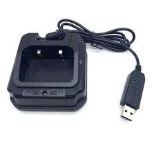 UV-9R USB Batterie Dock Ladegerät Für Baofeng pofung UV-XR A-58 UV-9R Plus GT-3WP UV-5S Retevis RT6 UV9R UVXR Walkie Talkie