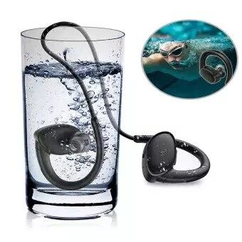 X9 Fish Bionic 8G MP3 Bluetooth V4.2 auricular IPX7 impermeable natación deporte Supergraves auriculares con micrófono de alta fidelidad