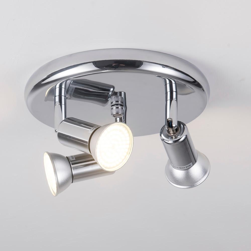 Lámpara led giratoria nórdica de techo, lámpara de Loft para cocina, dormitorio, luces Led colgantes de ángulo ajustable, accesorio de luz colgante