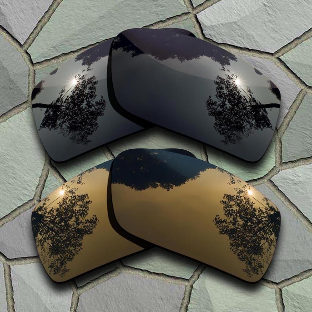 Фото - Grey Black&Bronze Copper Sunglasses Polarized Replacement Lenses for Oakley Gascan очки oakley oakley c 3 gascan черный onesize