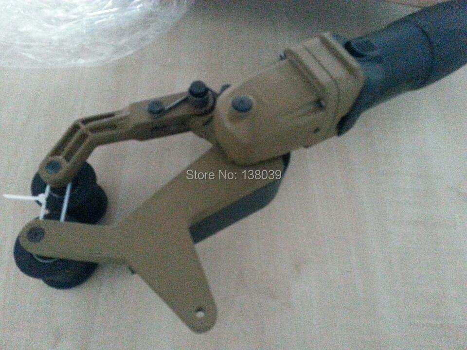 stainless pipe sand belt polisher  tube sand polisher enlarge