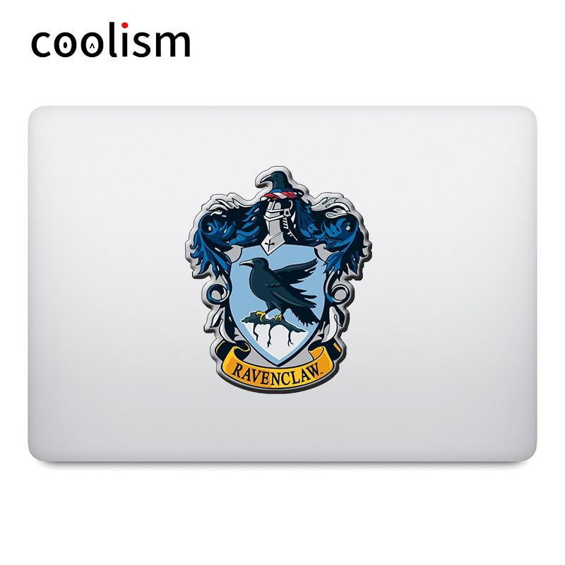 Ravenclaw дом значок ноутбука Наклейка на MacBook Air Pro retina 11 12 13 15 дюймов Mac чехол для компьютера Поверхность книги стикер