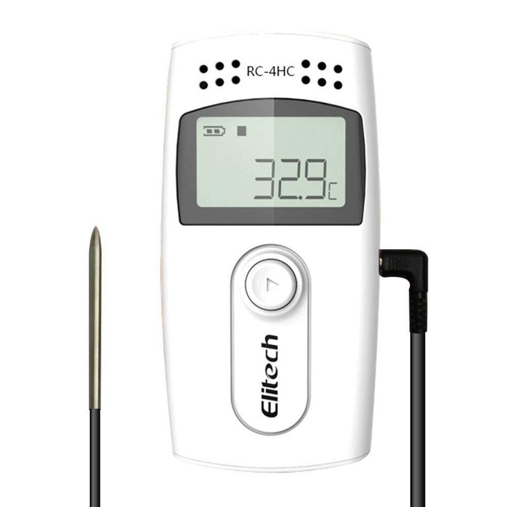Elitech RC-4HC USB регистратор данных температуры и влажности 16000 точек емкость записи-2 года гарантия качества