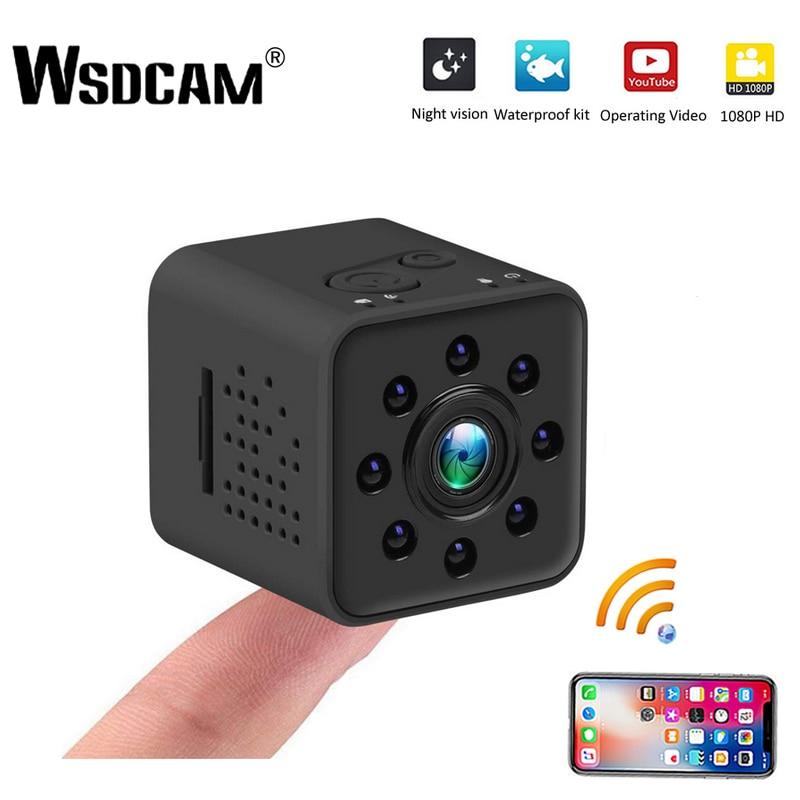 Wsdcam FULL HD 1080P Mini Camera WIFI Camera SQ13 SQ23 SQ11 SQ12 Night Vision Waterproof Shell CMOS