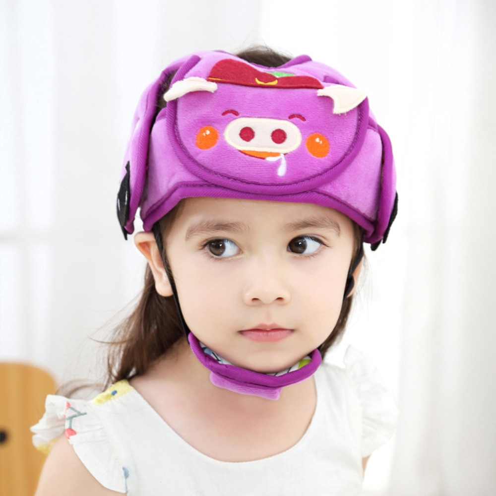 Sombrero gorrito para bebé para niñas gorro niño niños casco protector anticolisión seguridad confort casco infantil ajustable gorro recién nacido