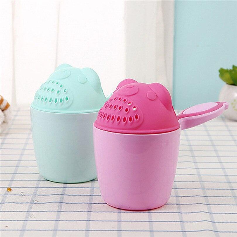 1PC Shower Head Baby Shampoo Cup Bath Waterfall Rinser Kids Shampoo Rinse Cup Bath Shower Washing Head Unisex chuveiro #4JY3