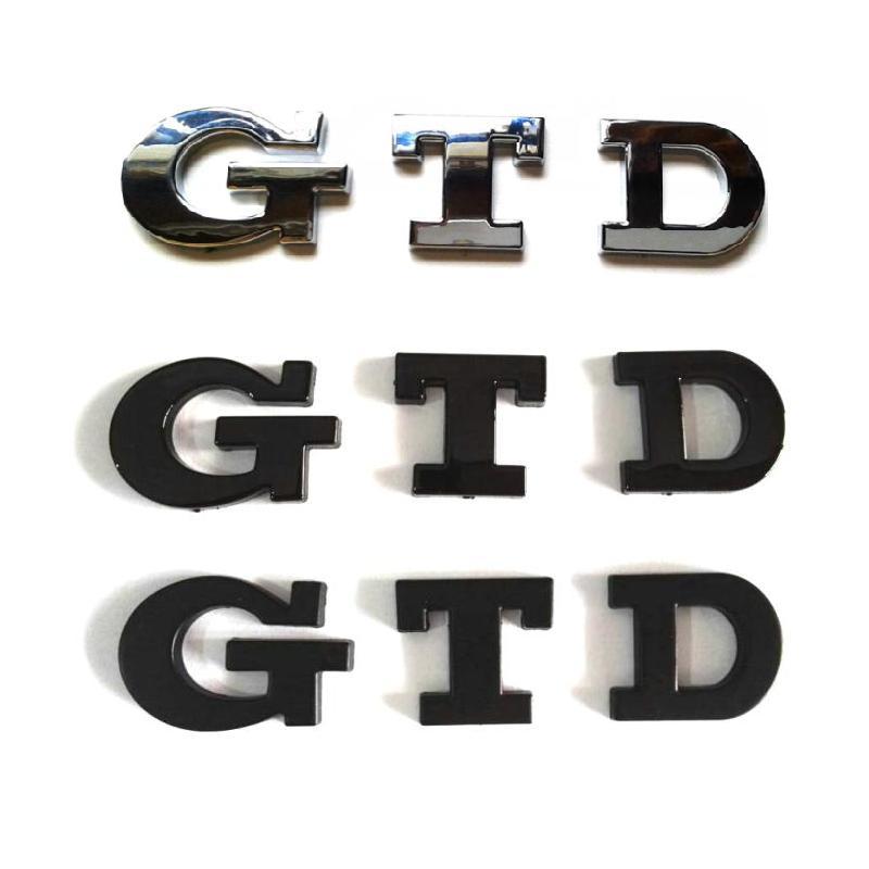 Pegatinas de plástico ABS de tamaño pequeño para coche, insignias de emblemas,...