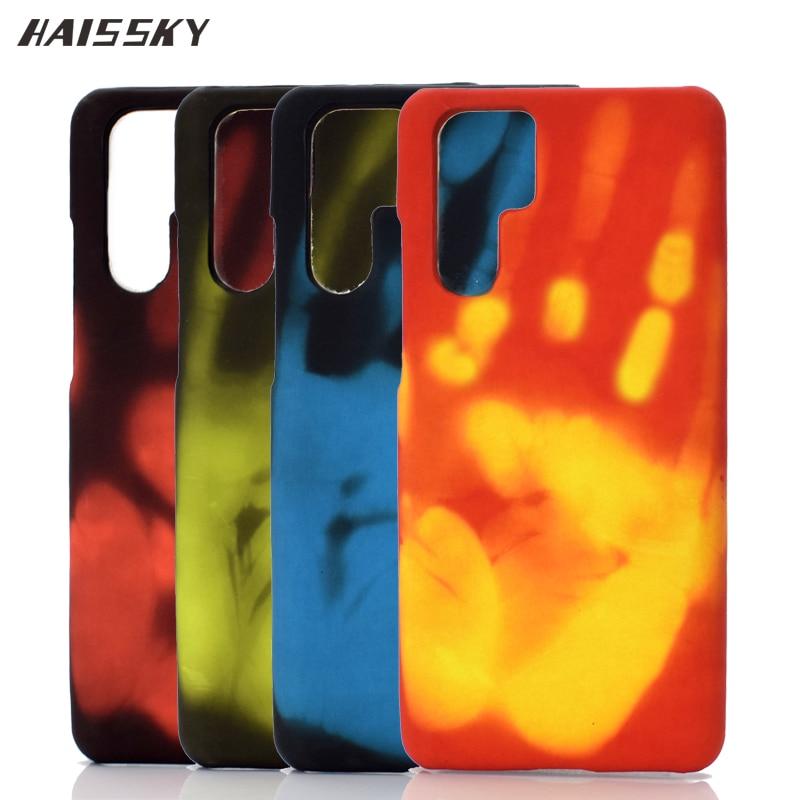 Чехол для Huawei P30 Pro с термосенсором, чехол для Huawei P30 P20 Lite, термочувствительный, меняющий цвет, чехол для Huawei Mate 10 20 Lite